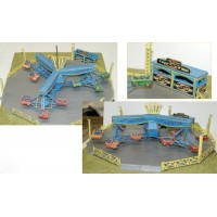 Q48 Twister/Sizzler Fair Ride Unpainted Kit OO Scale 1:76