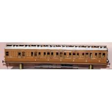 R1 NE/LNER Clerestorey Push Pull Coach Unpainted Kit OO Scale 1:76