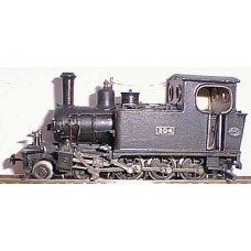 I4 Hunslet W4D 4-6-0 tank loco requires Minitrix 2030 or N205 Unpainted Kit OO Scale 1:76