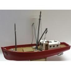 MB33 60ft Steel Hull Trawler / Shrimper Waterline Version (OO scale 1/76th)