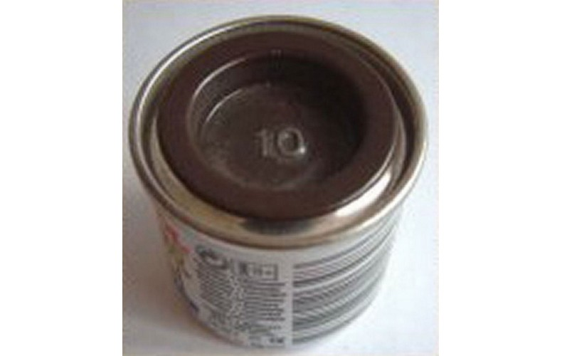 PP10 Humbrol Enamel Gloss Paint Tinlet 14ml Code: 10 Dark Brown
