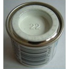 PP22 Humbrol Enamel Gloss Paint Tinlet 14ml Code: 22 White