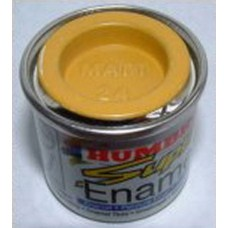 PP24 Humbrol Enamel Matt Paint Tinlet 14ml Code: 24 Yellow