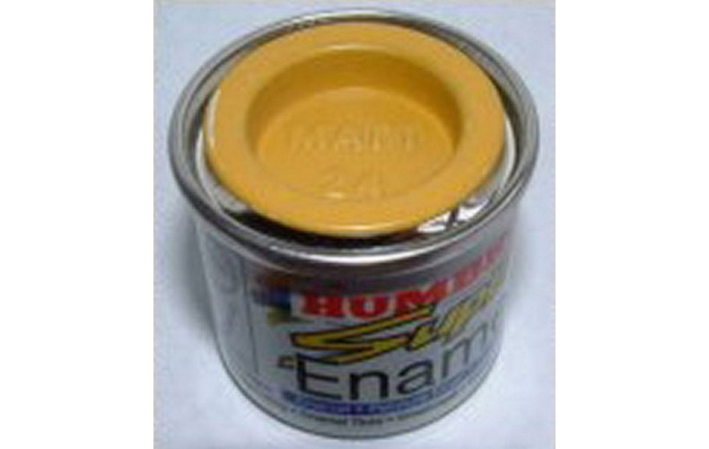 PP24 Humbrol Enamel Matt Paint Tinlet 14ml Code: 24 Yellow