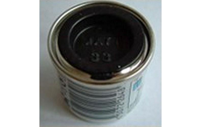 PP33 Humbrol Enamel Matt Paint LARGE Tinlet 50ml Code: 33 Black LARGE TIN