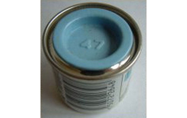 PP47 Humbrol Enamel Gloss Paint Tinlet 14ml Code: 47 Light Blue