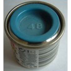 PP48 Humbrol Enamel Gloss Paint Tinlet 14ml Code: 48 Mid Blue