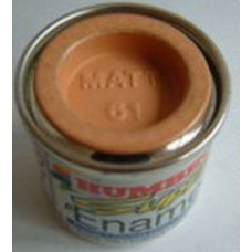 PP61 Humbrol Enamel Matt Paint Tinlet 14ml Code: 61 Flesh