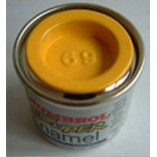 PP69 Humbrol Enamel Gloss Paint Tinlet 14ml Code: 69 Yellow