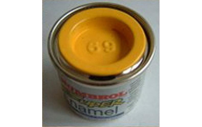 PP69 Humbrol Enamel Gloss Paint Tinlet 14ml Code: 69 Yellow