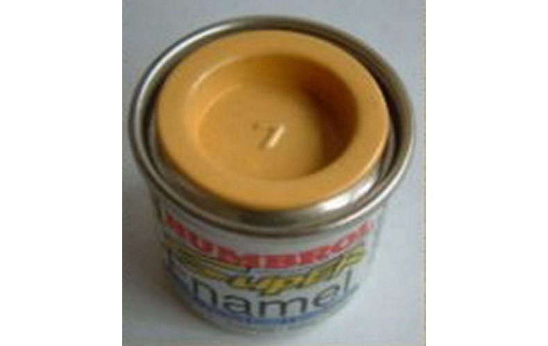 PP7 Humbrol Enamel Gloss Paint Tinlet 14ml Code: 7 Cream