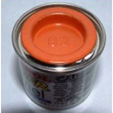PP82 Humbrol Enamel Matt Paint Tinlet 14ml Code: 82 Orange