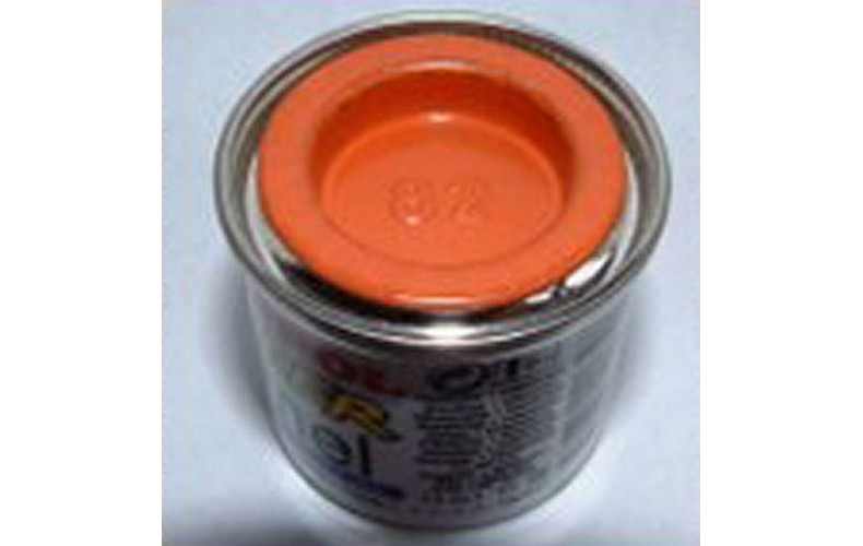 PP82 Humbrol Enamel Matt Paint Tinlet 14ml Code: 82 Orange