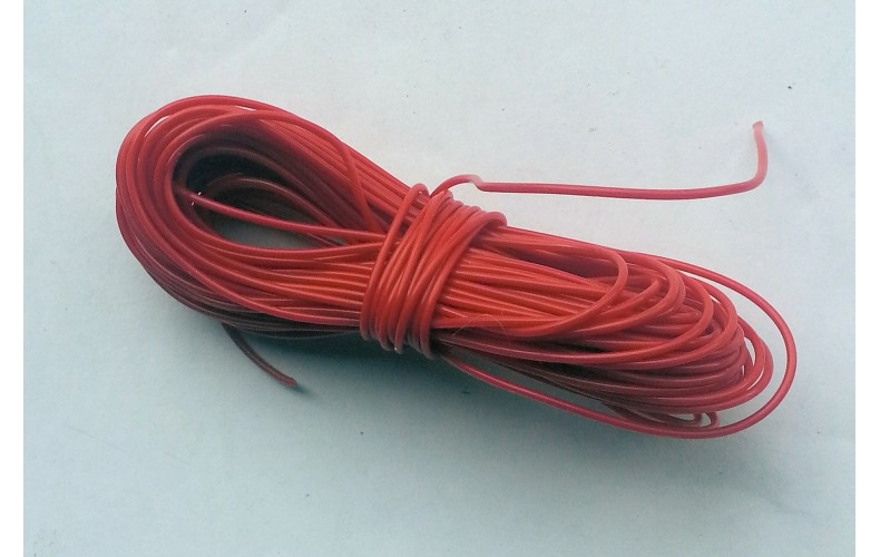 10 meters wire - Red SMF15