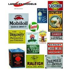 SMF27 Enamel Sign Reproductions -Workshop Ads (medium)
