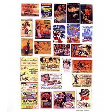 SMF38 Cinema & Theatre adverts - set 2 large