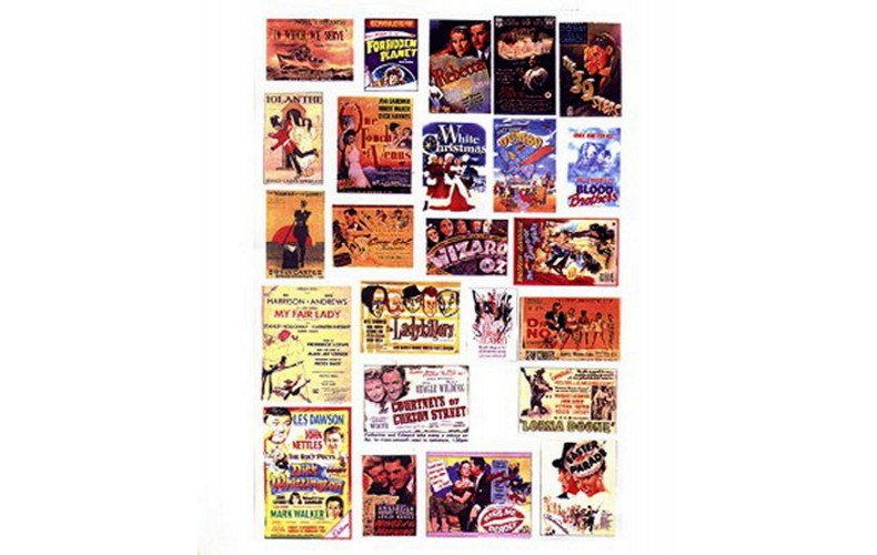 SMF40 Cinema & Theatre adverts -set 2 (small)