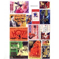 SMF41 Cinema & Theatre posters - set 1 large