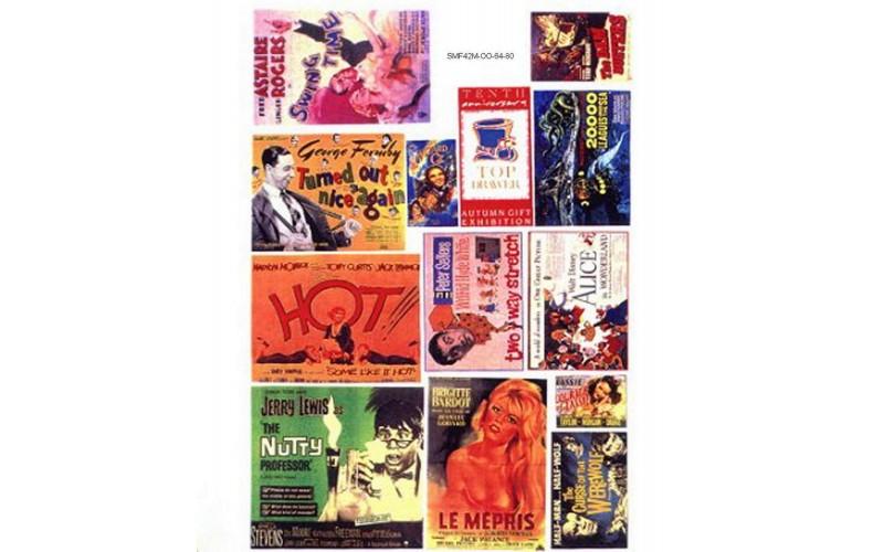 SMF42 Cinema & Theatre Posters Set 1(Medium)