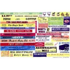 SMFmed Medium/large Shop/Pub signs (for 00 Masterbuild)