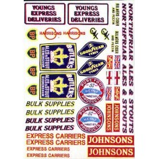 T4 Lorry decals set 1