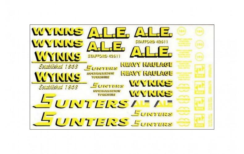 T7 Heavy haulage Wynns, Sunters, A.L.E.