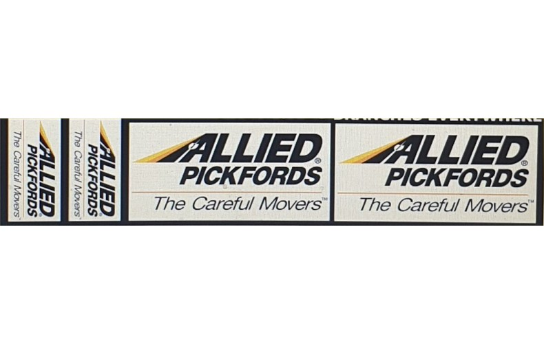 T9c Allied Pickfords Decals (OO scale 1/76th)