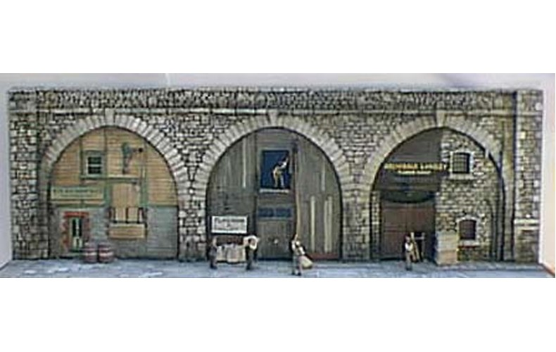 V15set Under the Arches workshops Unpainted Kit OO Scale 1:76