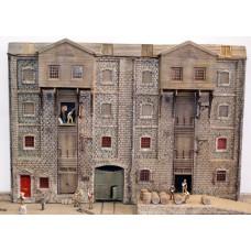 V19set Maltings warehouse Unpainted Kit OO Scale 1:76
