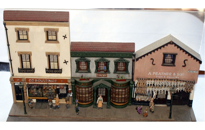 V1set 3 different shops Unpainted Kit OO Scale 1:76