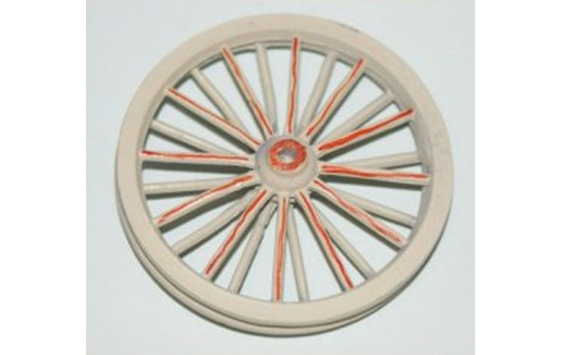 Pair Pitt Head Winding wheels 48mm diameter (OO Scale 1/76th)