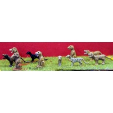 Z07 Zoo Big Cats (OO scale 1/76th)