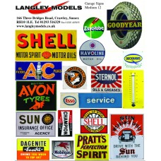 SMF11 Garage advertising signs (small)