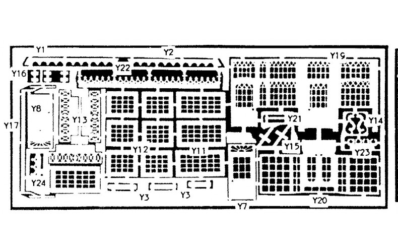 NV2a etching for Post Office,Pub,Shop(NV2) Unpainted Kit N Scale 1:148