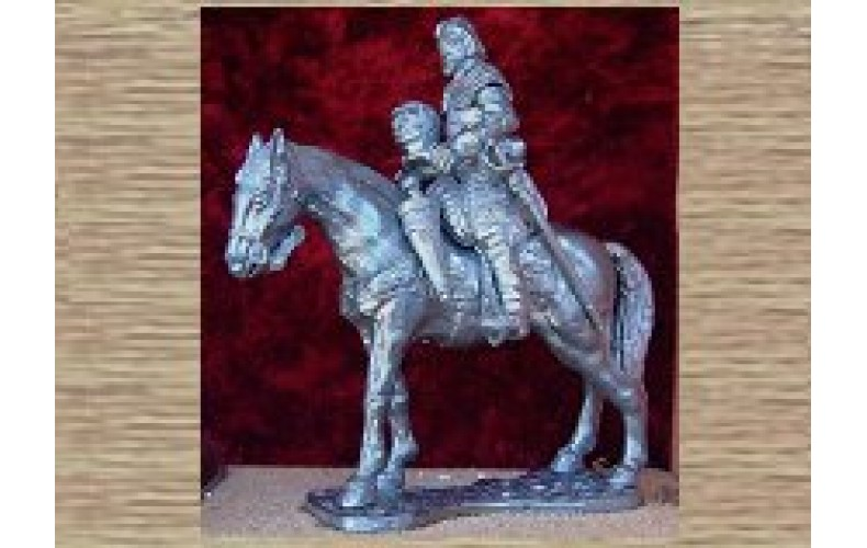 EC5 Mounted Officer of Cuirassiers (54mm scale)
