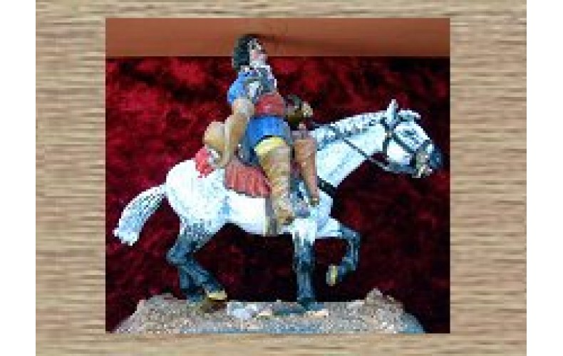 EC6 Passing In Review (mounted officer) (54mm scale)