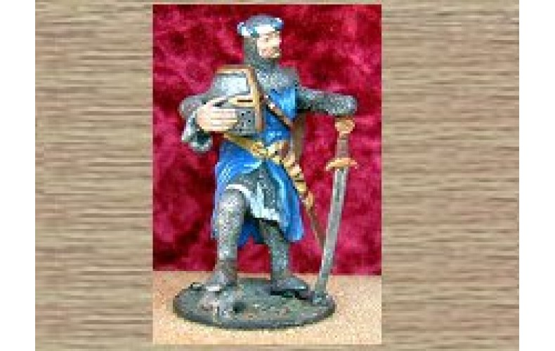KS1 Standing Knight - Relaxed (54mm scale)