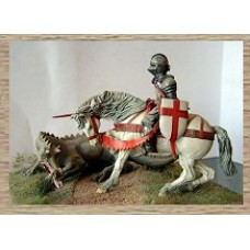 LM1 St George and the Dragon (75mm scale)