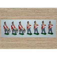 TW1ac 5th Northumberland Fusiliers - Fifes & Drums