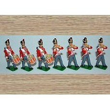 TW1cc 35th Royal Sussex - Fifes & Dums