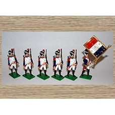 TW2a French Imperial Guard - Colour Party