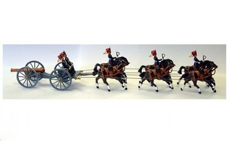 TRHA1 Royal Horse Artillery Mounted Gun Crew