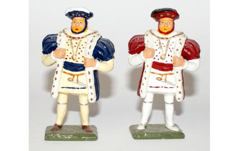 KQ1p King Henry VIII th Painted