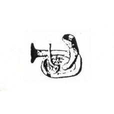 XA08 Band arms Bass Euphonium (54mm Scale)