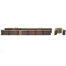 10144 Quayside Walling - Steel  (OO/HO Scale 1/87th)