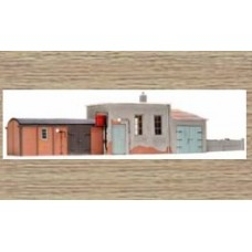 14112 Utility Buildings for Railway Workers  (N Scale 1/160th)