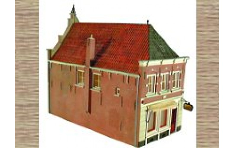 10166 Shop Front or House 17th century styling (OO/HO Scale 1/87th)