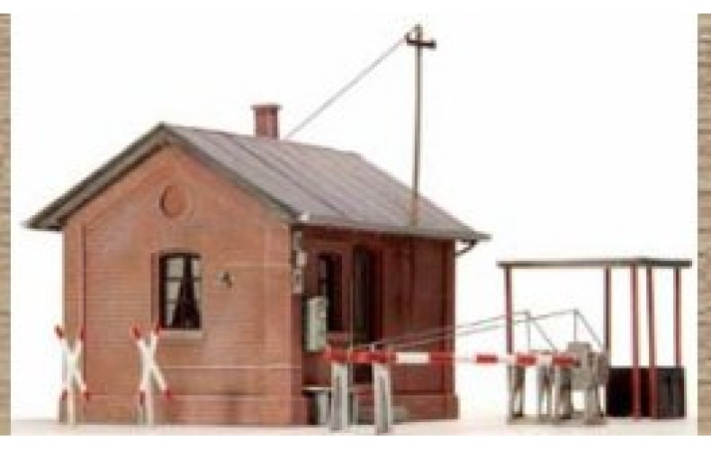 14113 Guarded Level Crossing  (N Scale 1/160th)