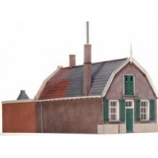 10176 House with Mansarde roof & workshop (OO/HO Scale 1/87th)