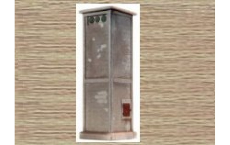 10201 Transformer Kiosk (French) (OO/HO Scale 1/87th)